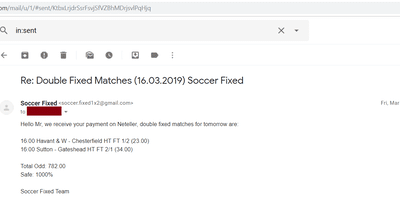 Fixed Match Offer, best paid picks