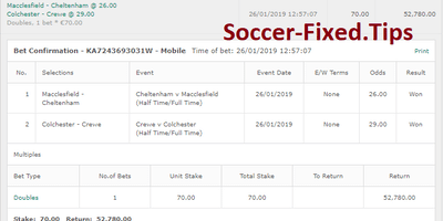 Fixed Match Offer, safe matches, sure picks, tomorrow fixed matches, buy fixed games, best soccer matches