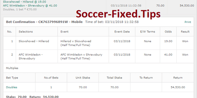 Fixed Match Offer, safe fixed matches, sure fixed games, sure tips, fixed games tomorrow