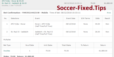 Fixed Match Offer, sure fixed matches today, best fixed games, sure pricks, buy fixed matches, sure matches 1x2