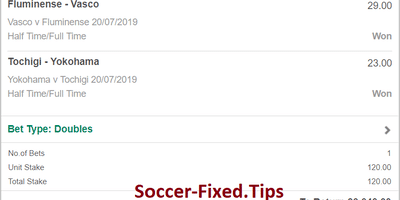buy fixed matches