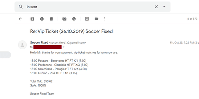 Soccer Fixed Bets