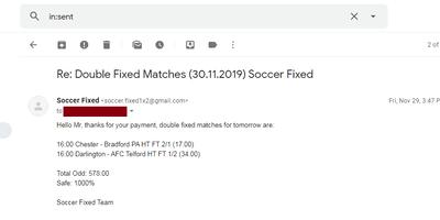 Football Fixed Bets