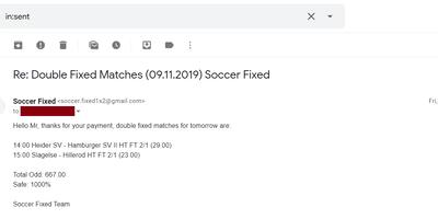 100% Safe Correct Score Matches