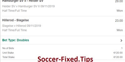 Soccer Fixed Matches Europe