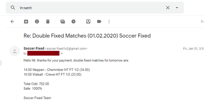 Saturday Fixed Matches