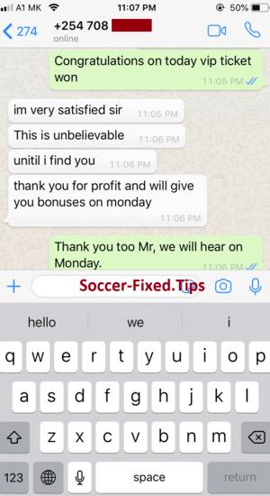Soccer fixed games Blog tips