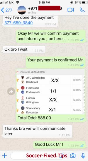 Best Fixed Match Telegram Channel