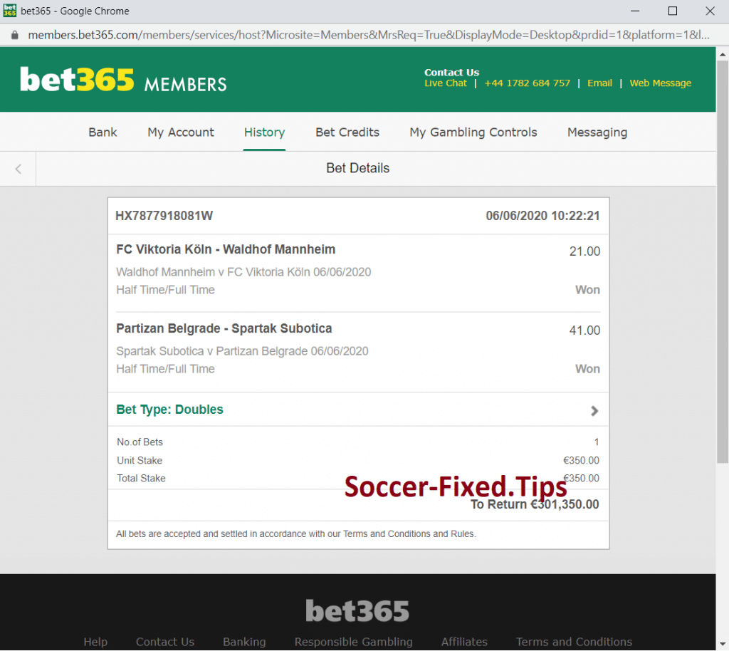 Soccer Max Bet Fixed Matches